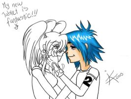 MY FIRST TRY IN THE TABLET XD by GND-KicaCris