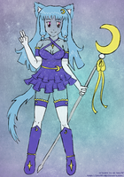 Magical Girl Ami -sketch- by izka197