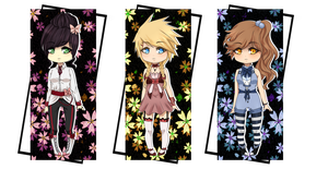 Ribbon Theme Adopts [OPEN/1 LEFT] by xYuujin-Adopts