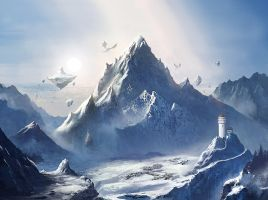 Mobile Game Snow Mountain by mrainbowwj