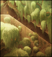 Path of the Weeping willows by Karbo