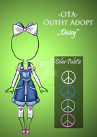 (closed) Offer to adopt - Daisy by CherrysDesigns