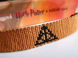 The Deathly Hallows bracelet by letax