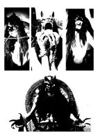 Werewolf black metal by andre-ma