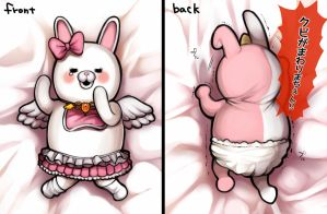 SuperDanganRonpa2 - USAMI and MONOMI by out69