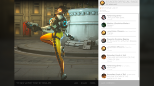 Tracer's social page by MrShlapa