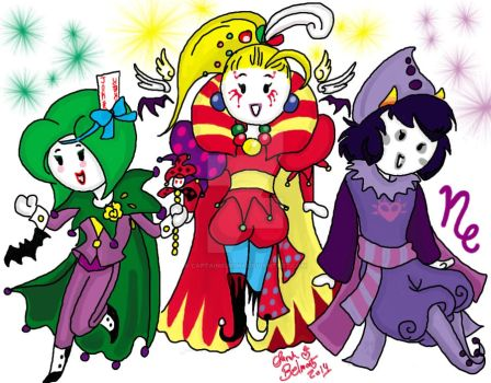 The Jesters by CaptainKurima