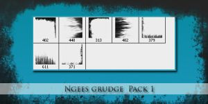 Photoshop Brushes Ngees Pack 2 by ngee