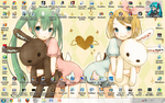 my PC desktop by KuroNeko987