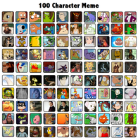 100 character meme by Radical-Hat