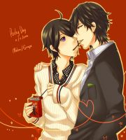 [Gaim] Pocky Day by Hideyo