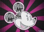 Mickey Mouse Typography by SoSo-K