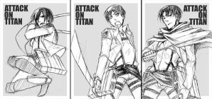 ATTACK ON TITAN - sketch by pandabaka