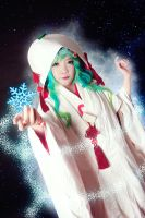 Yuki Miku 2013 - Winter Magic by nyaomeimei