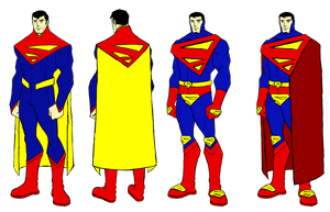 Superman redesigns by BloodySamoan