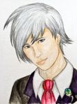 A Portrait of a Pokecelebrity: Steven Stone by XXD17