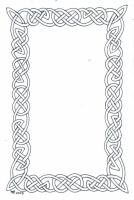 A Small Knotwork Border by robertsloan2