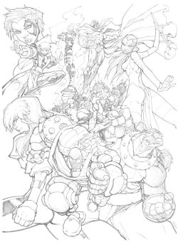 X-Men: Age of Apocalypse by mikebowden