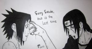 Sasuke and Itachi Uchiha by piritajenna
