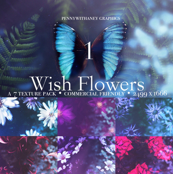 #1 Texture Pack - Wish Flowers by Pennywithaney