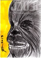 Chewbacca by J-Dubi