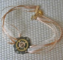 Victorian Ribbon Choker by Anthyslily