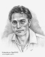 Rufus Sewell by IcedWingsArt