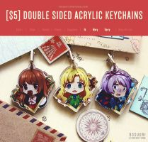 Keychains - IB Game by Rosuuri