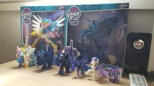 My figurines collection of My Little Pony (01) by cedricc666