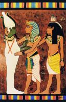 King Tut Meet Osiris by snowsowhite