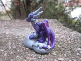 Cynder sculpture by klumtimea
