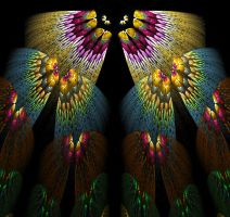 Butterflies Fractal by trashydragon