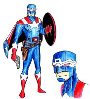 Captain America Redesign by piotrov