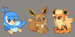 Pokebuddys by chickenmcfuckit