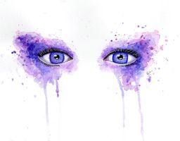 Second Attempt with watercolor by AngelLale87
