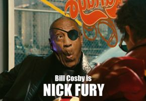 Bill Cosby is NICK FURY by ImWithStoopid13