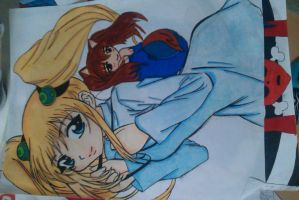 Me and Mini Me promarkers remodeled by Emox-Lovez