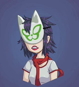 Noodle (MS Paint) by RadiaNerale