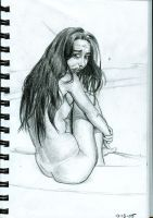 Girl Sketch 2 by Octave13