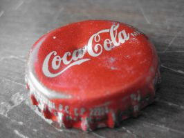 Coca Cola Bottle Cap by punklizrox
