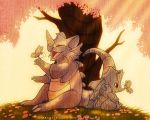Rhyhorn and Rhydon by francis-john