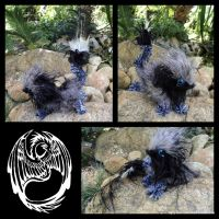 Ki'laer - Handmade ooak poseable companion critter by SonsationalCreations