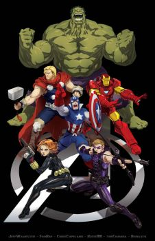 Avenging JAM by Robaato
