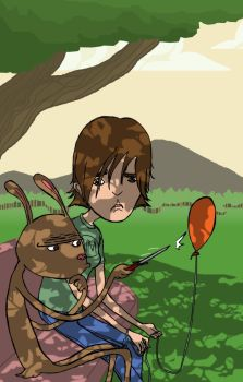 Gretchen and the Rabbit by ntopp