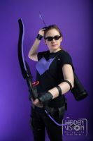 Hawkeye Cosplay pic 1 by SabrePanther