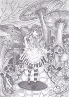 Alice in Wonderland by Andrenna