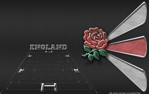 England rugby wallpaper by KorfCGI