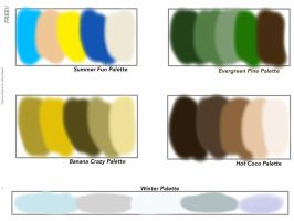 Free Palettes 1 by Julia-adopts