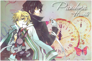 Pandora Hearts by akinuy