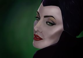 Maleficent by TheDevilOnYourBack